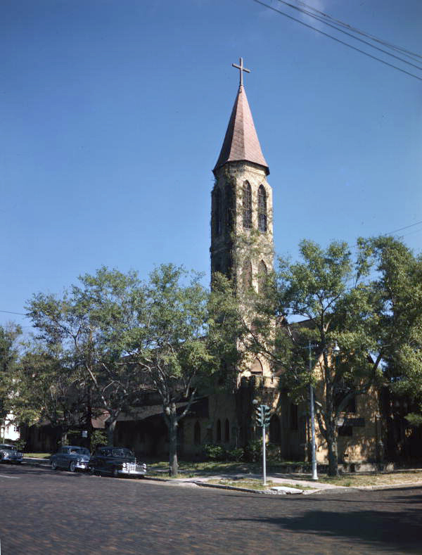 Cathedral Church of St. Peter at 140 4th St. N. in St. Petersburg, Florida.