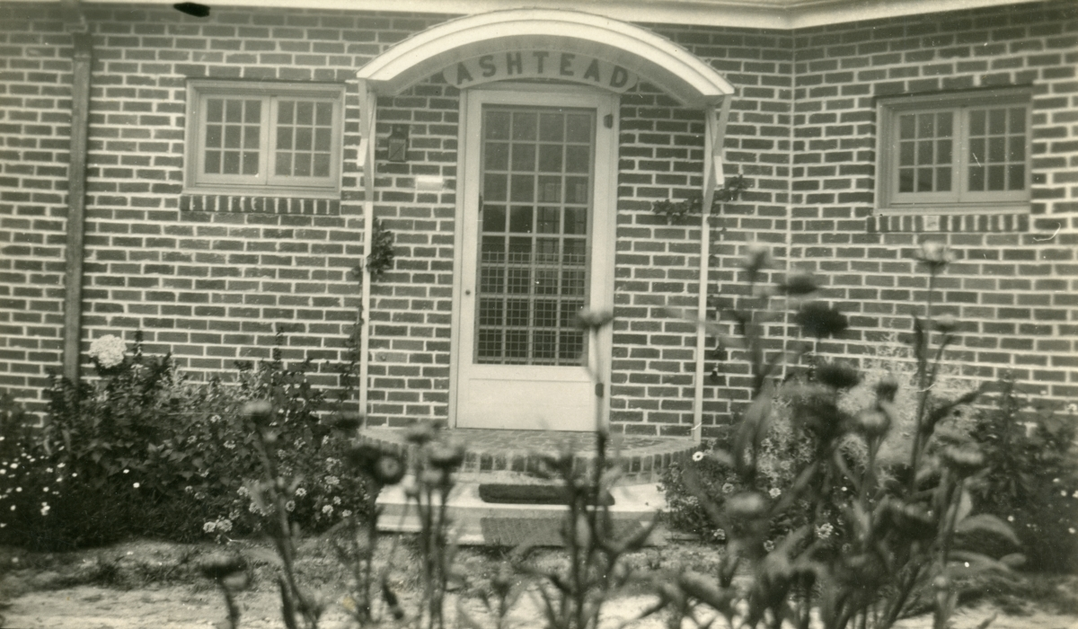 Entrance to the Dixon home at 516 Ward St. in Tallahassee.