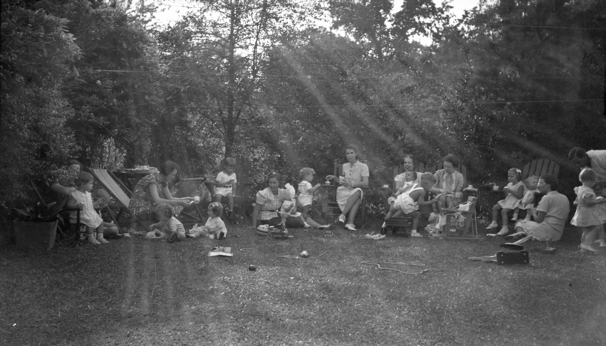 Birthday party in the backyard of Cassandra Dixon's home at 516 Ward St. in Tallahassee.