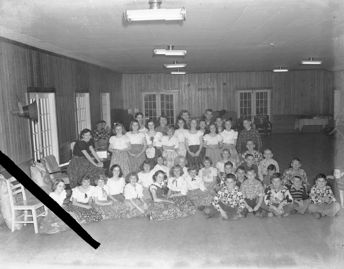 Group portrait at the square dance - Tallahassee, Florida.