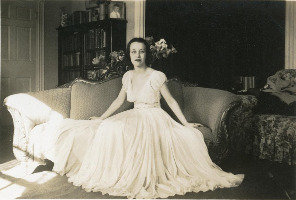 Portrait of Mrs. William N. Blanding.