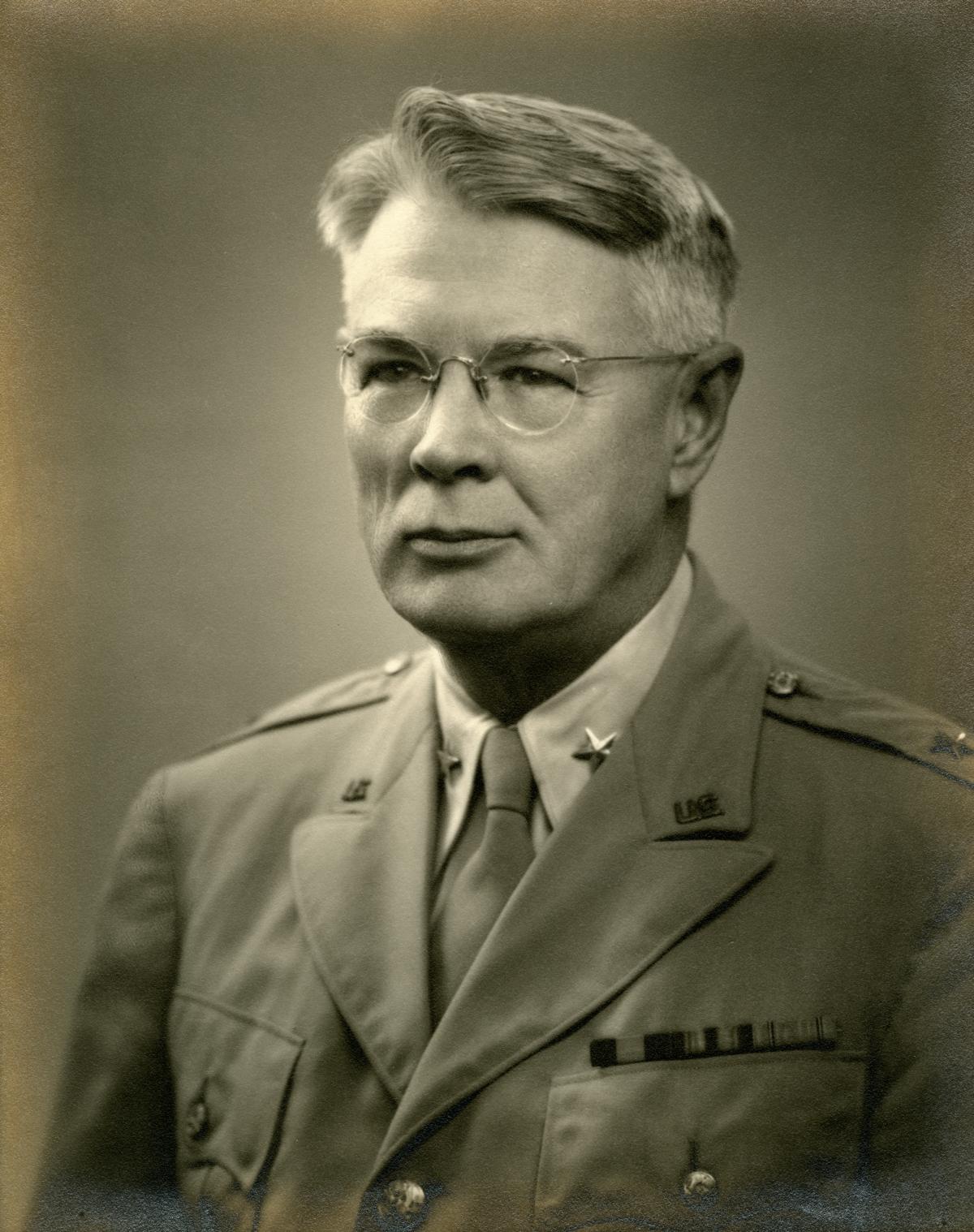 Portrait of Brigadier General Vivian Collins.