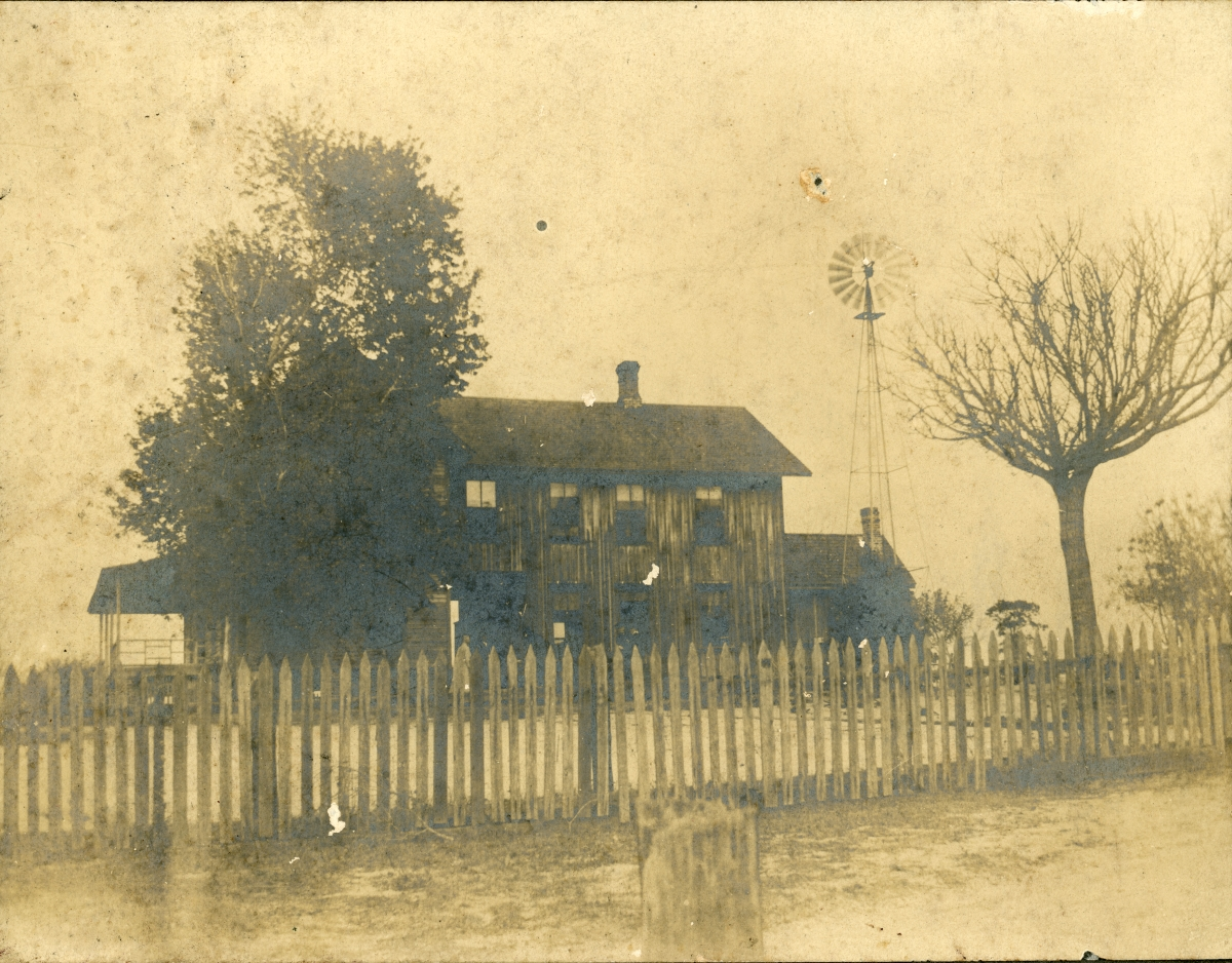 C.A. Knowlton's place - Pomona, Florida.