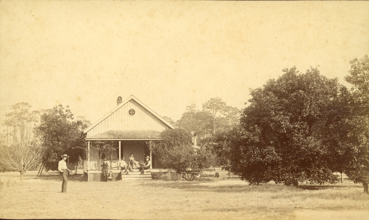 Vincent family at their home in Pomona.