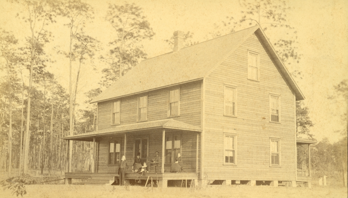 A.B. Knowlton's place - Pomona, Florida.