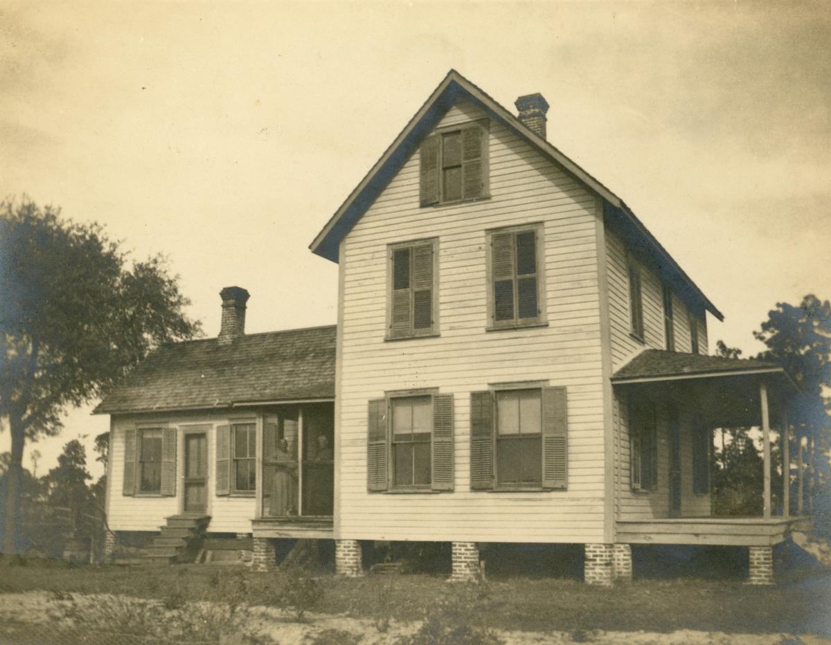 John Cook's home in Pomona.