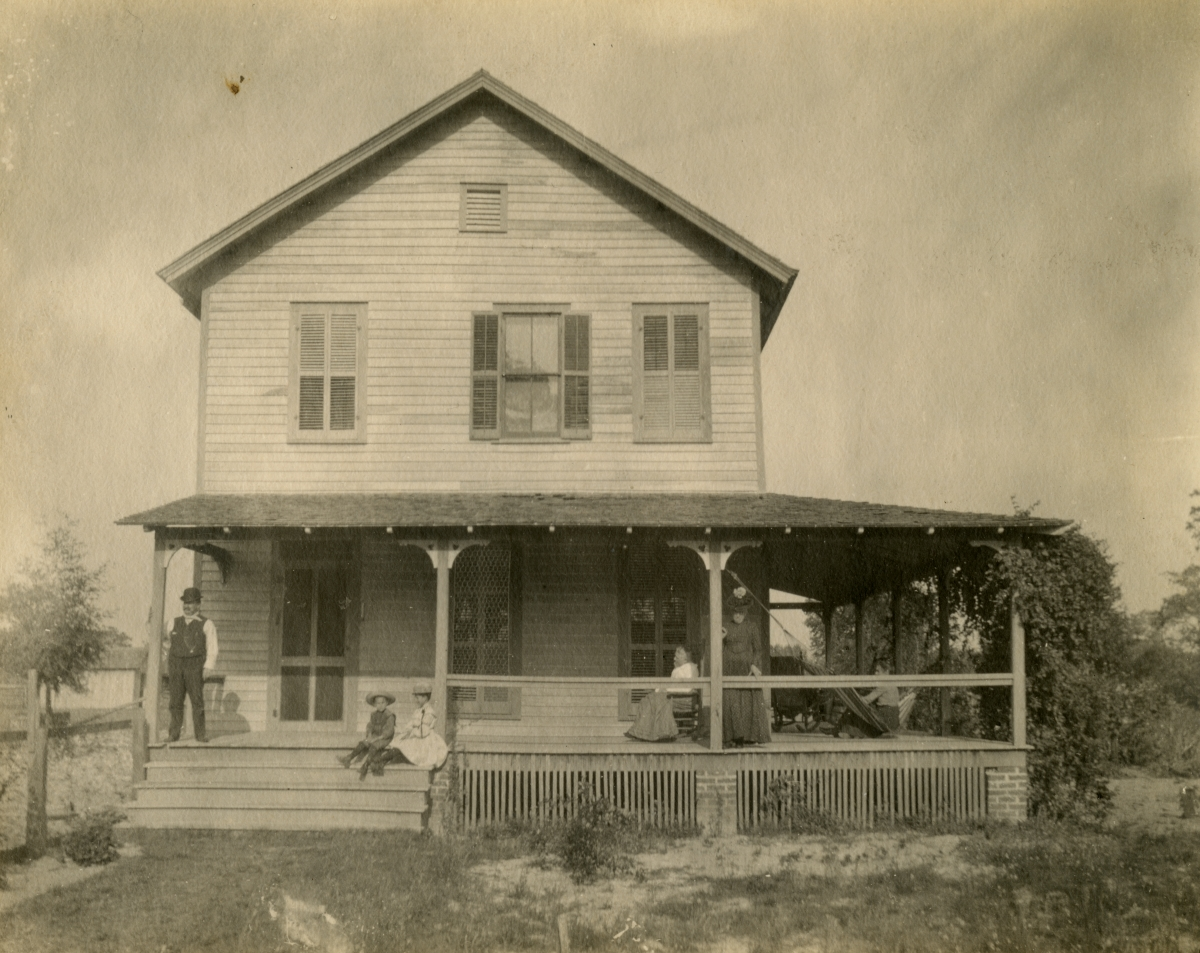 C.H. Smith home - Pomona, Florida.