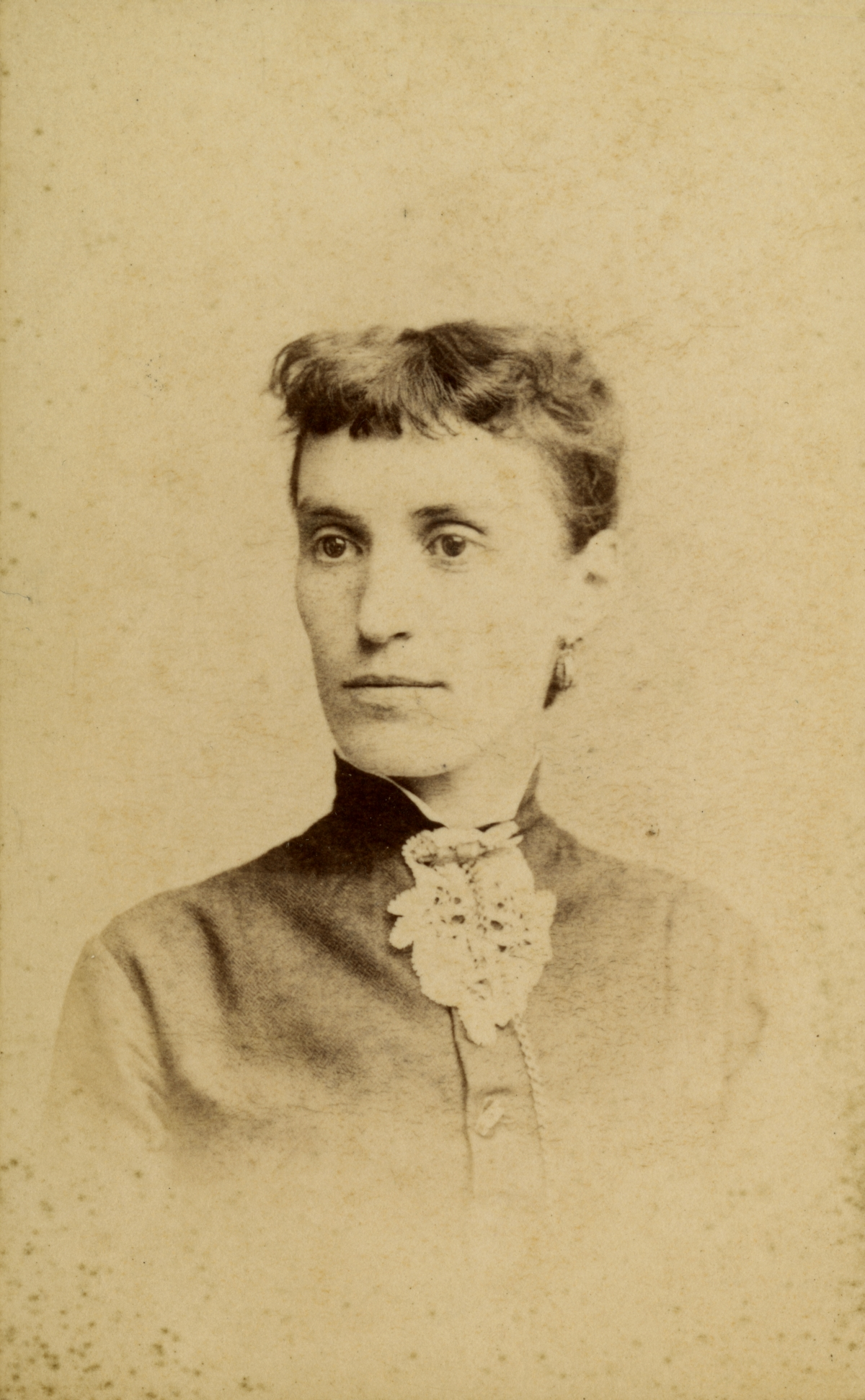 Portrait of Pomona Park pioneer Mrs. Charles Vincent.