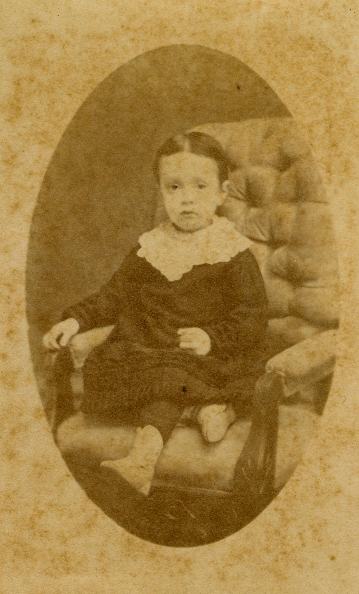 Portrait of Pomona Park pioneer Lottie May Olmstead.