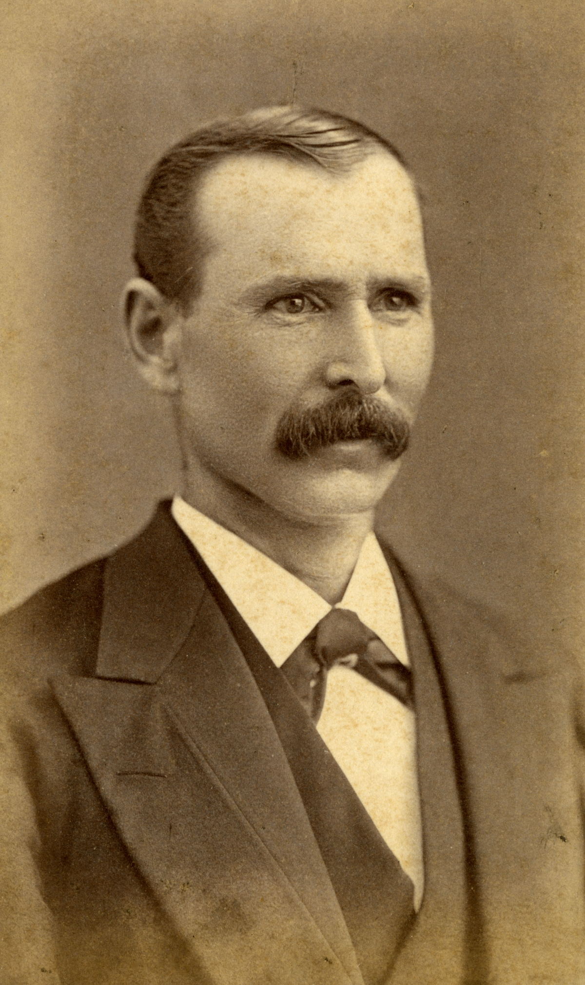 Portrait of Pomona Park pioneer George Otterson.