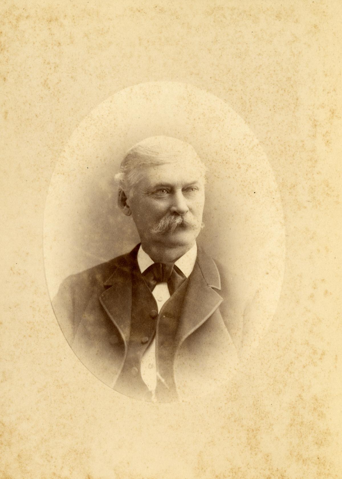 Portrait of John Cook.