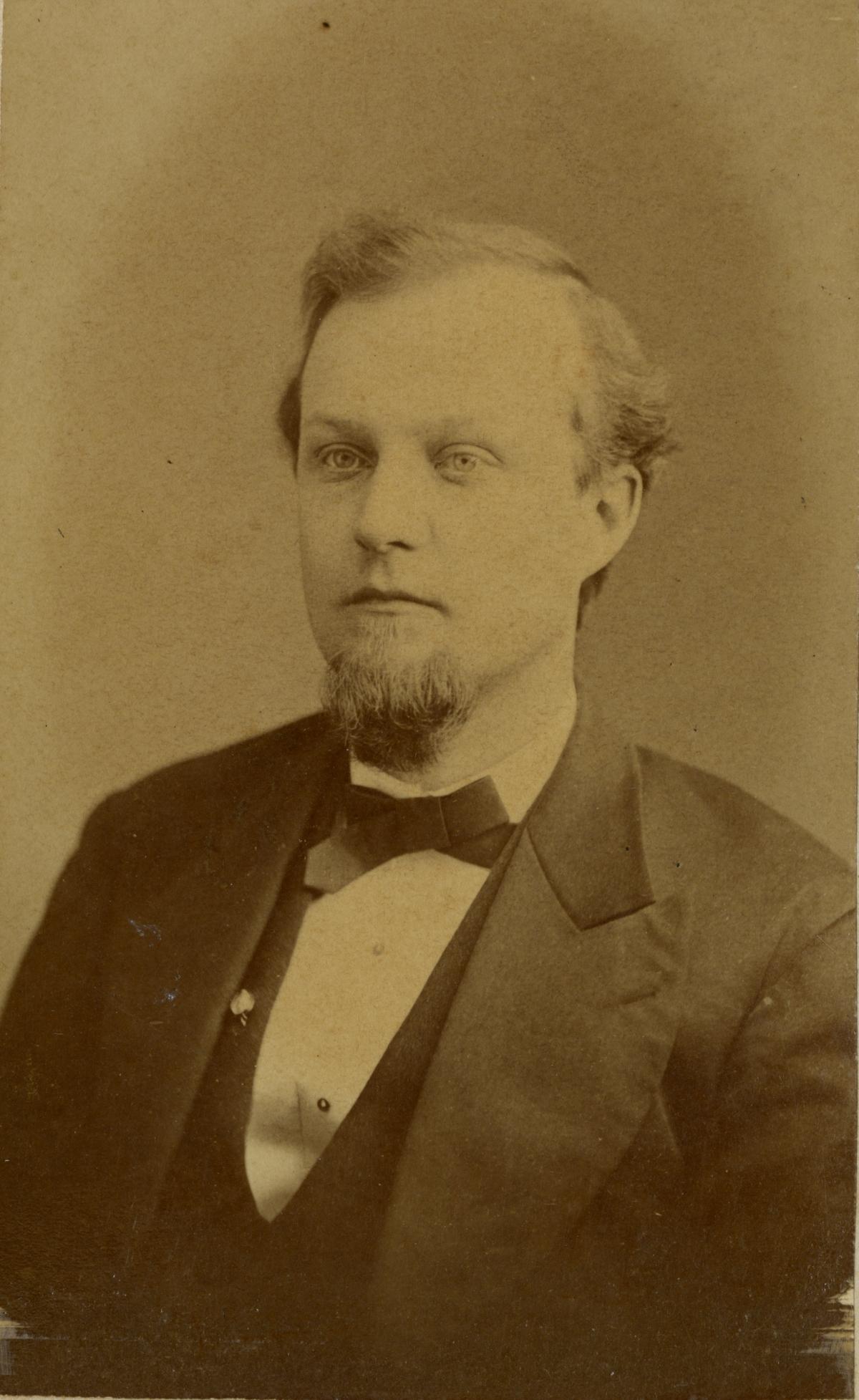 Portrait of Pomona Park pioneer C.A. Knowlton.