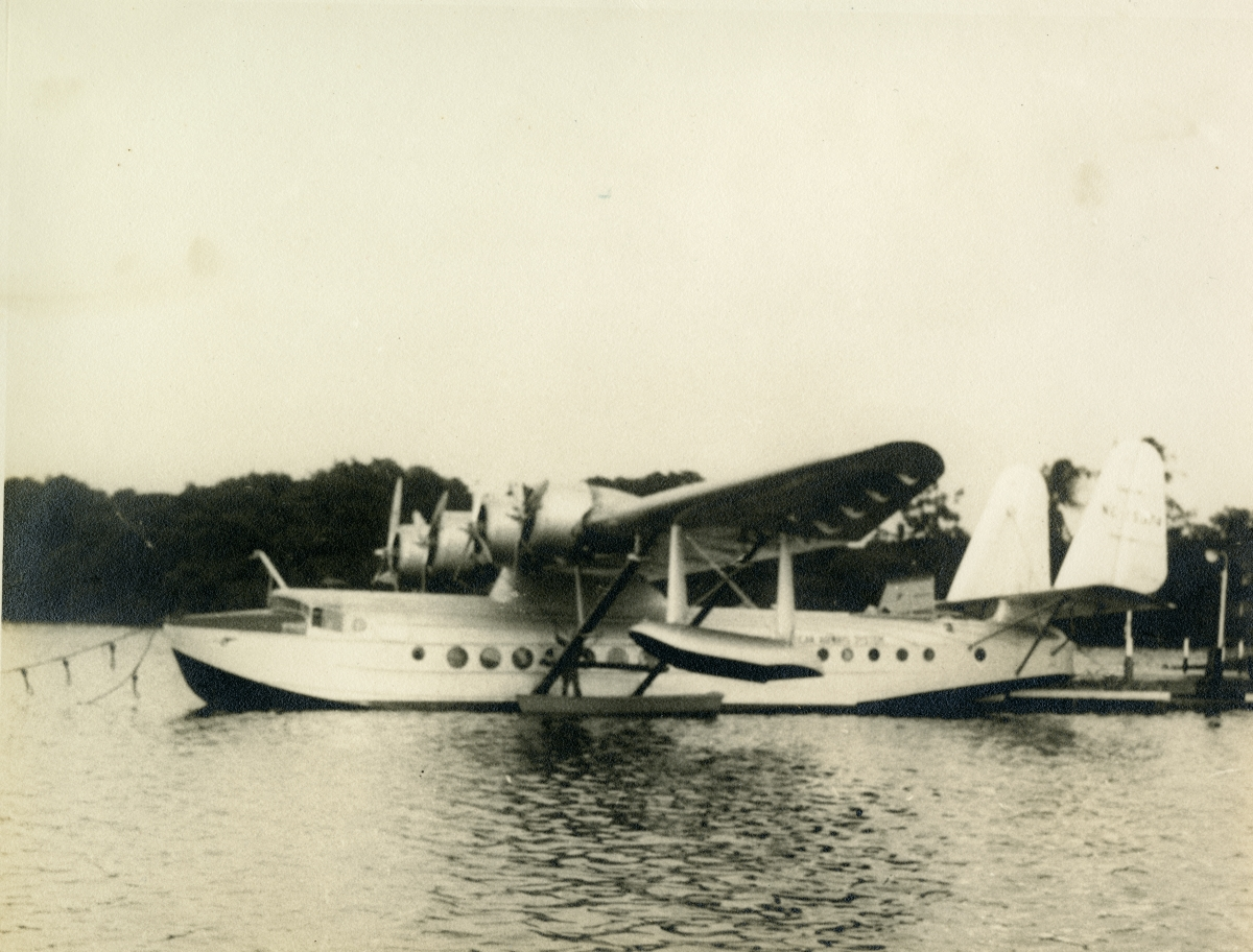 China Clipper in Colon, Panama.