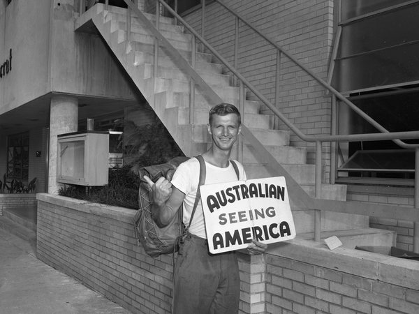 Australian seeing America.
