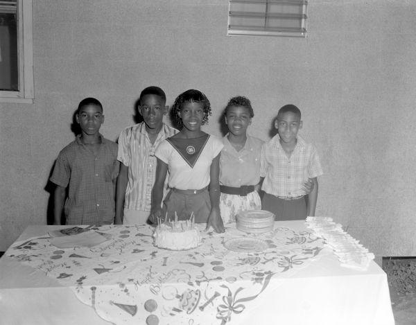 13th birthday party for Cornelia Ann Johnson in Tallahassee, Florida.