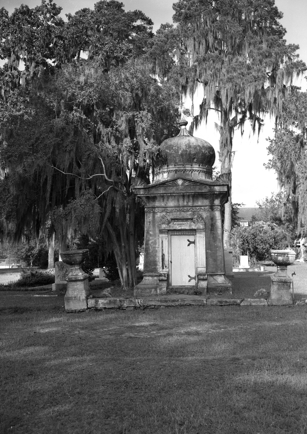 Calvin C. Phillips mausoleum at Oakland Cemetery in Tallahassee.