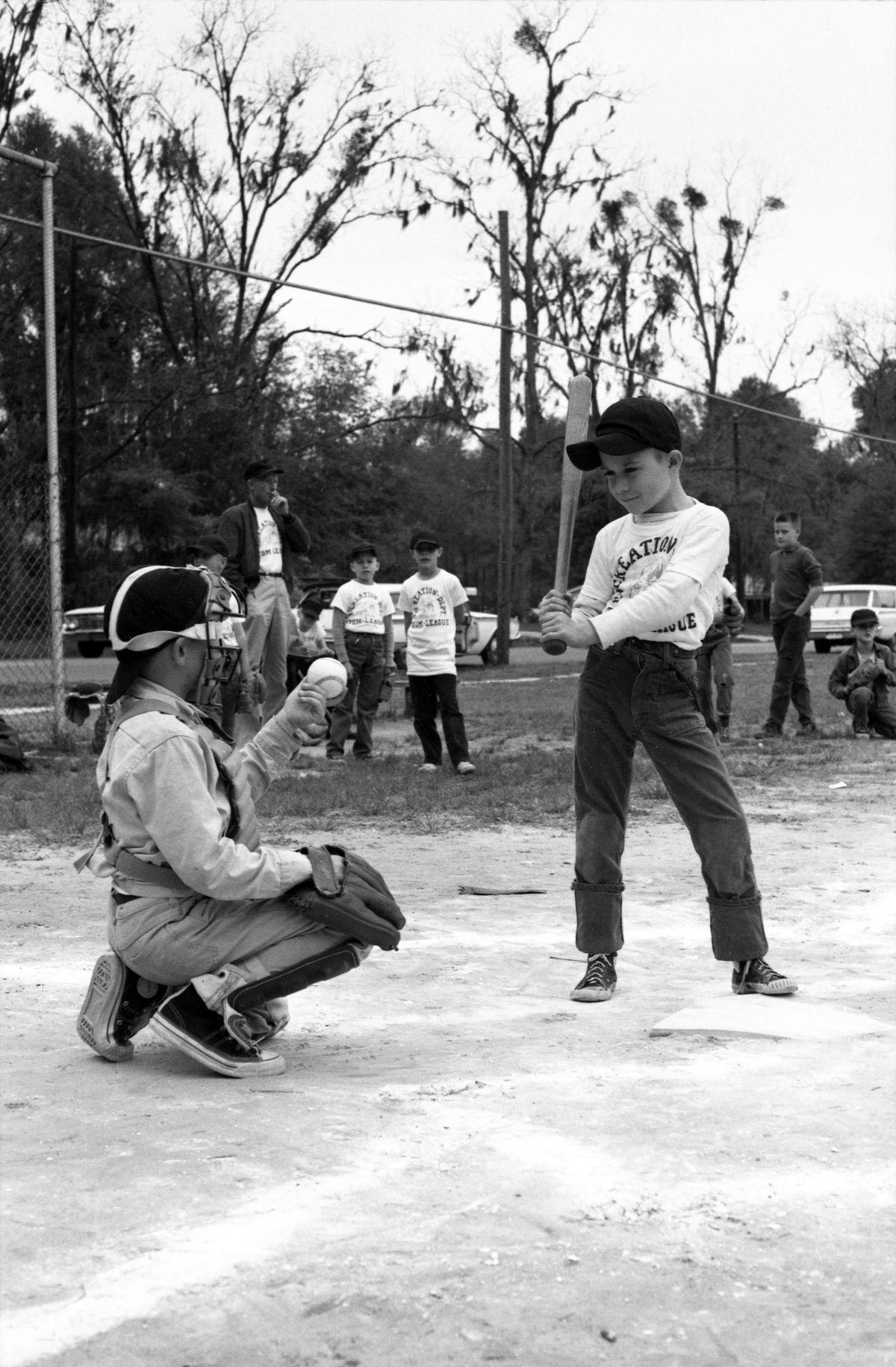 Tallahassee Recreation Department baseball game.