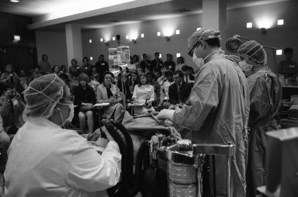 TMH medical procedure demonstration in Tallahassee.