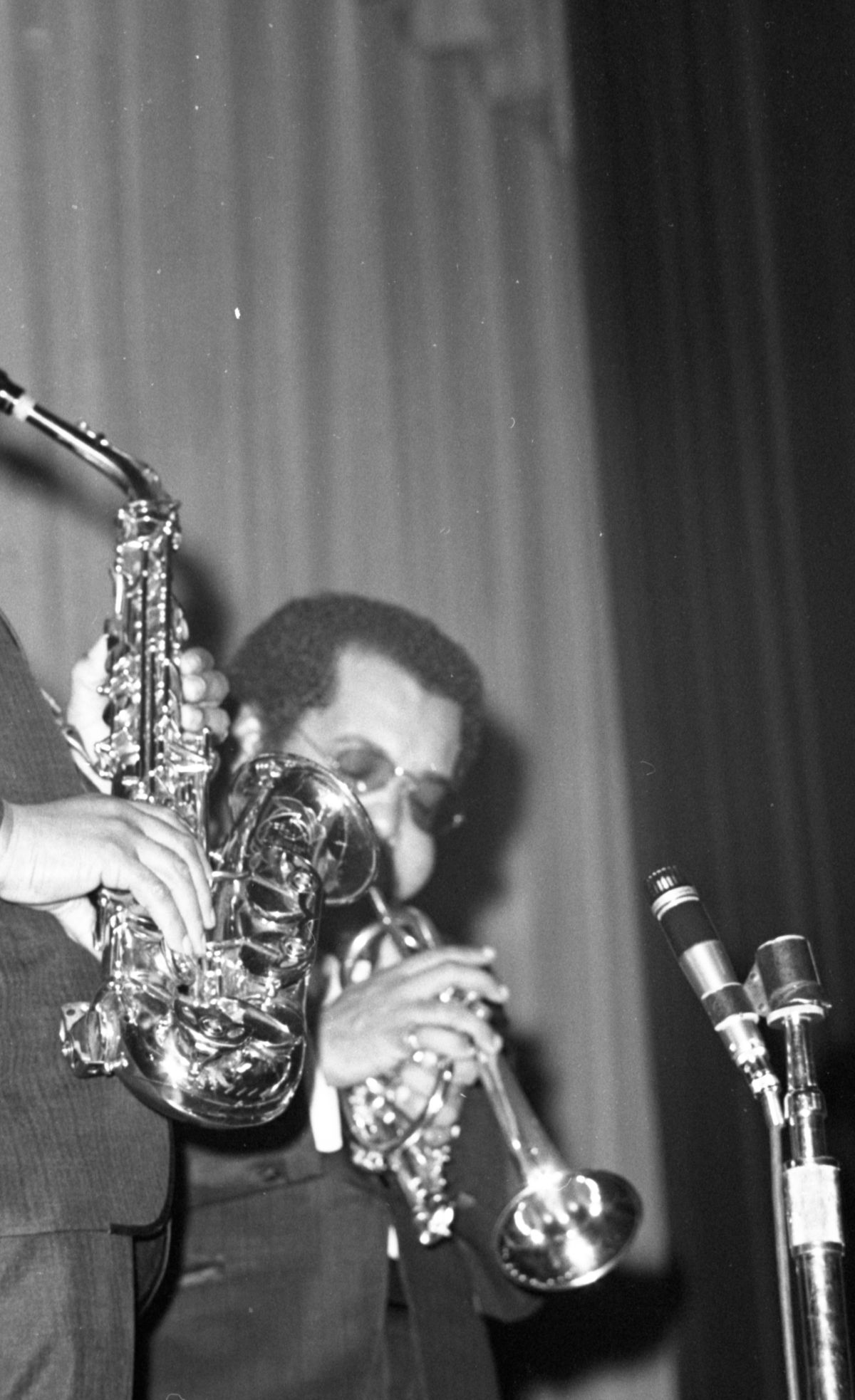 Cannonball Adderley Quintet playing sell-out concert at FAMU in Tallahassee.