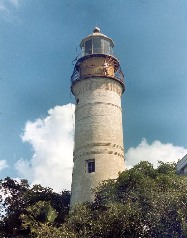 Key West Lighthouse located at 938 Whitehead Street - Key West, Florida.