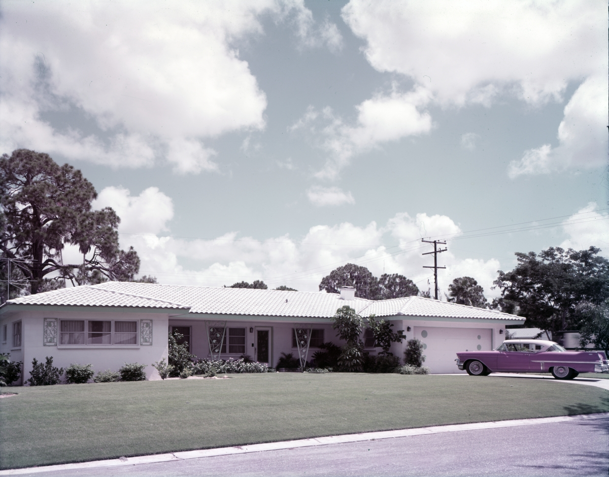 Anderson family home in Sarasota.