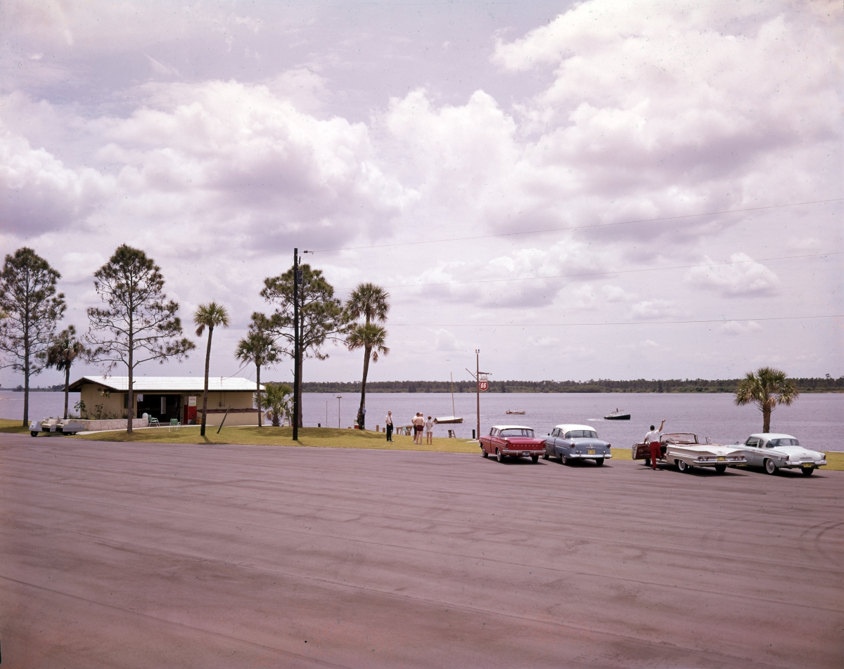 Marina on the St. Lucie River at Port St. Lucie.