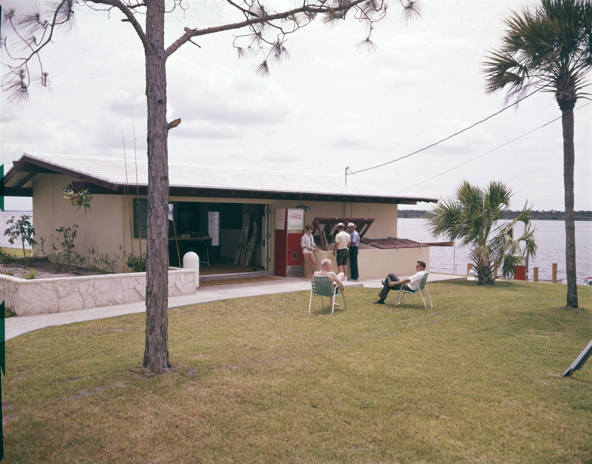 Marina scene at Port St. Lucie.