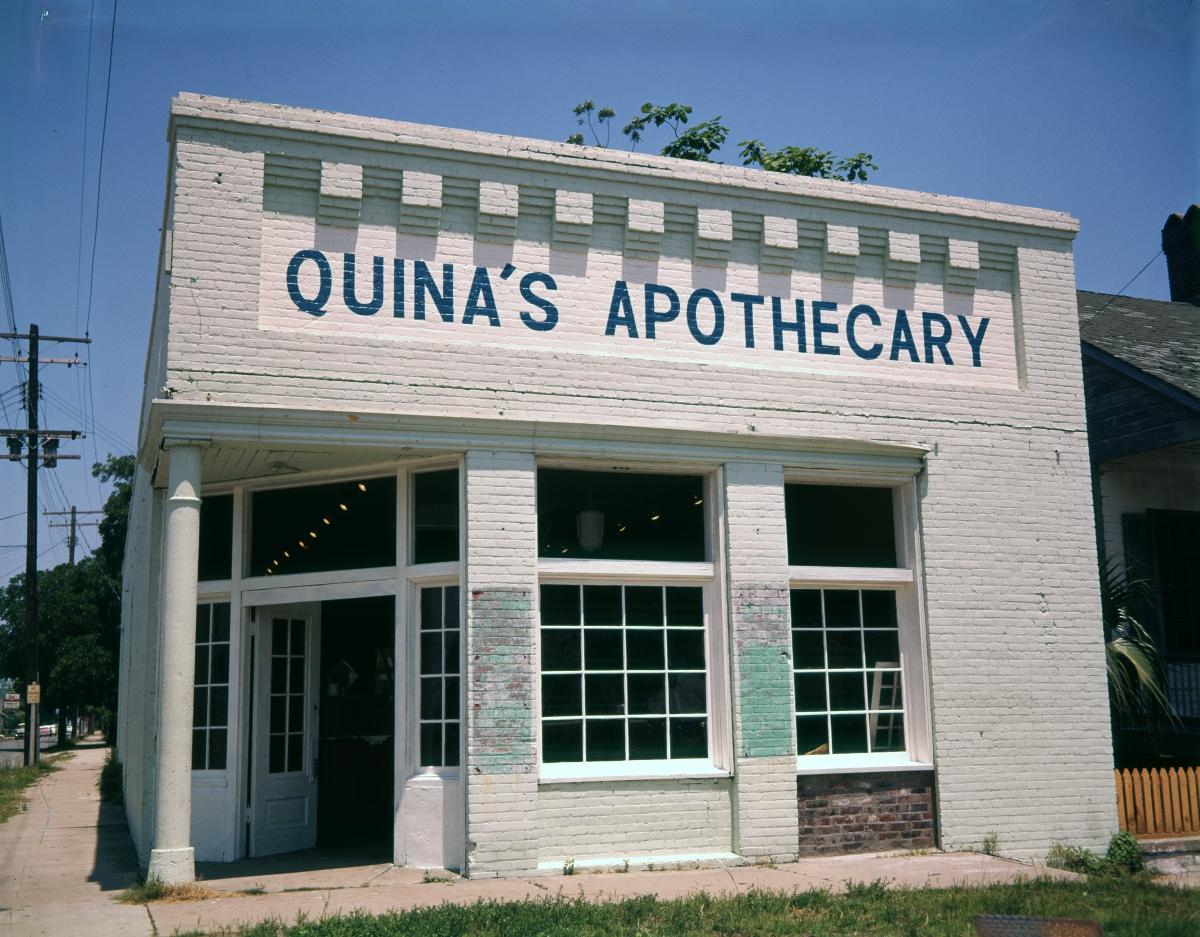 Quina's Apothecary in Pensacola.