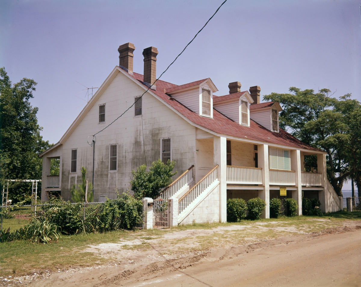 George W. Barkley house at 410 S. Florida Blanca St. in the Pensacola Historic District.