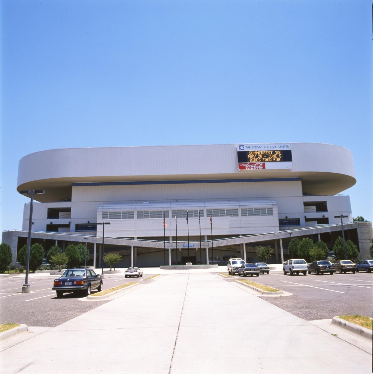 Pensacola Civic Center.