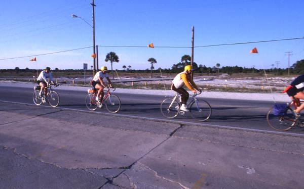 Biking at Panama City.