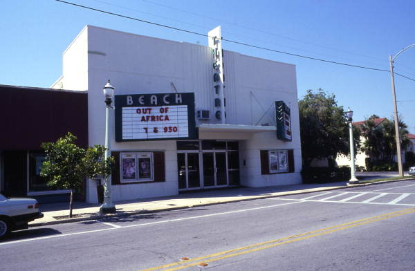 Beach Theatre at 315 Corey Ave. in St. Petersburg Beach.