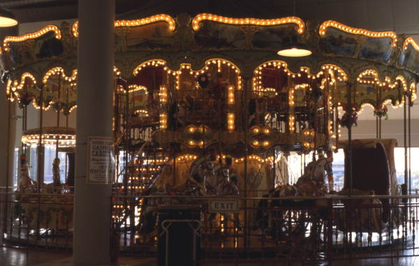 Harbour Island Hotel carousel in Tampa.