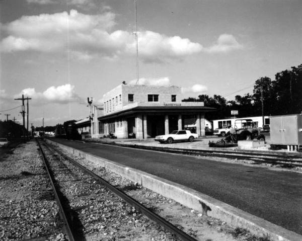 Railroad station - Gainesville, Florida.