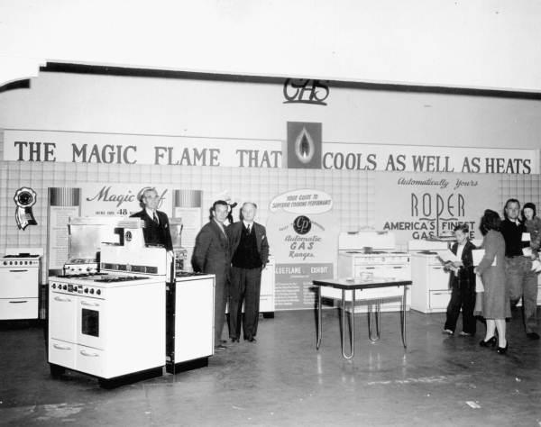 Gas exhibition at Florida State Fair - Tampa, Florida