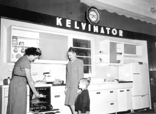 Kelvinator kitchen exhibition at the Florida State Fair - Tampa, Florida