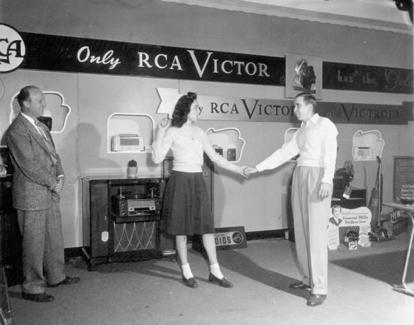RCA Victor exhibit displayed at the Florida State Fair - Tampa, Florida
