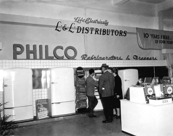 Philco Corporation exhibition at the Florida State Fair - Tampa, Florida