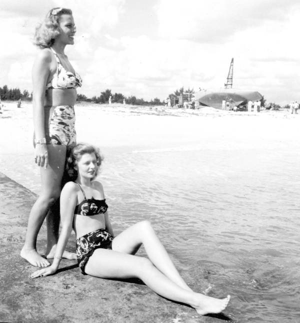 Elsie Anderson and Florence Lainhart - West Palm Beach.