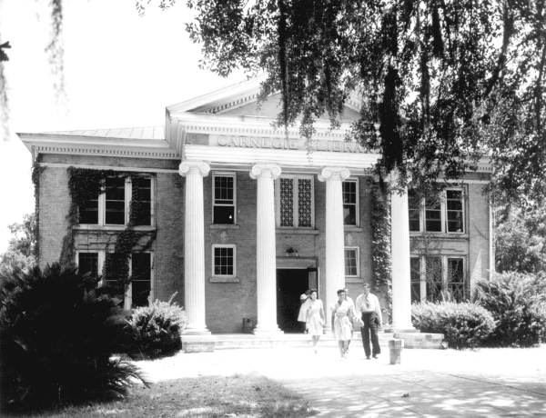Carnegie Library at Florida Agricultural and Mechanical College for Negroes - Tallahassee, Florida.