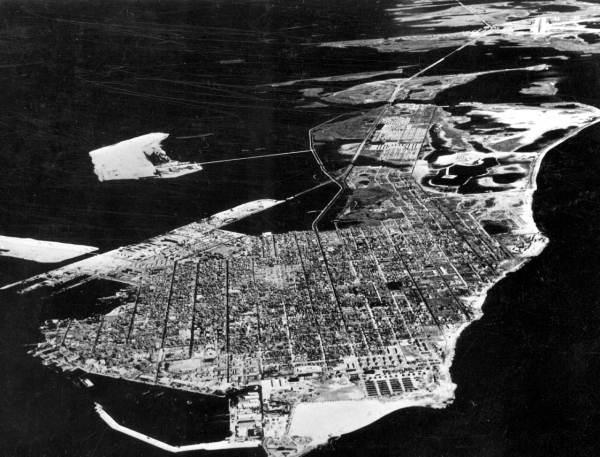 Aerial view - Key West, Fla.).