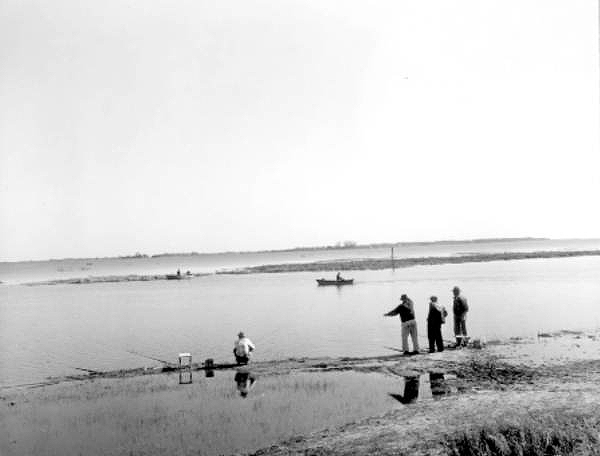 Fishing at Lake Tohopekaliga - Kissimmee, Florida.