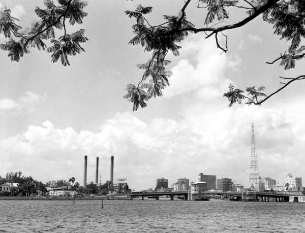 Tampa's harbor.
