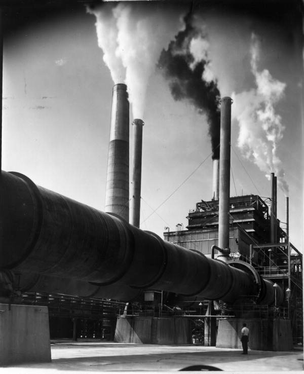 Part of the Buckeye Cellulose plant - Foley, Florida.