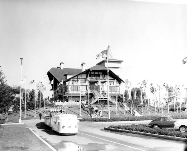 Old Swiss style house at Busch Gardens - Tampa, Florida.