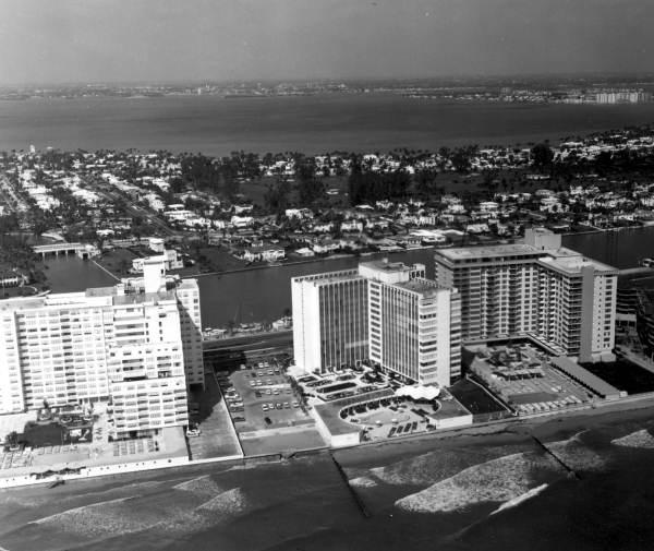 Aerial view - Miami Beach, Florida.