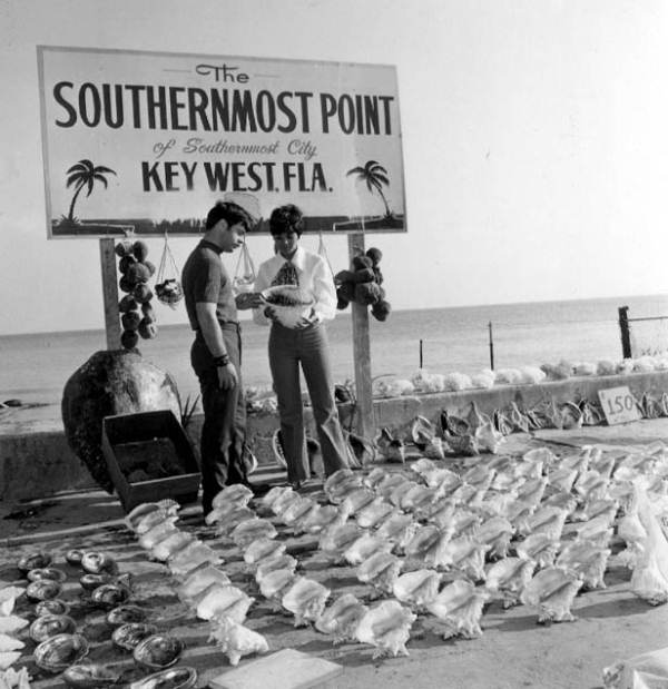 Street vending at the Southernmost point - Key West, Florida.