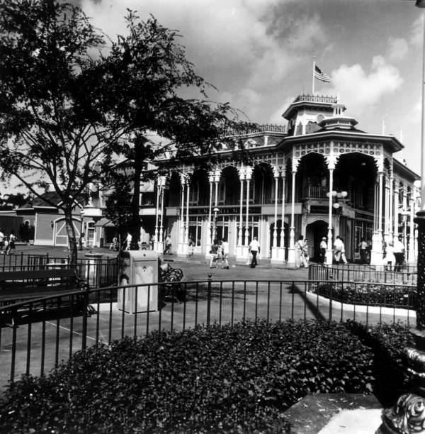 View of building at the Magic Kingdom - Orlando, Florida.