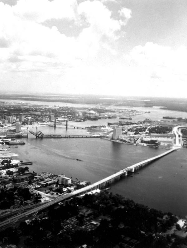 Aerial view - Jacksonville, Florida.