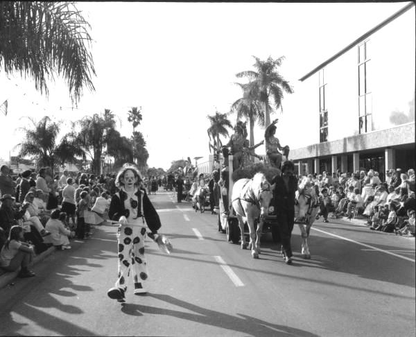 Circus parade- Venice, Florida.